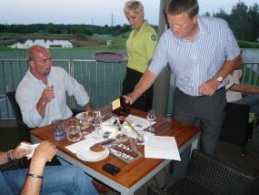 Doutníkový večer v Golf clubu Hostivař