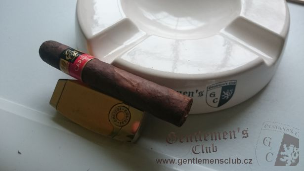 EP Carrillo Cardinal Maduro robusto 52
